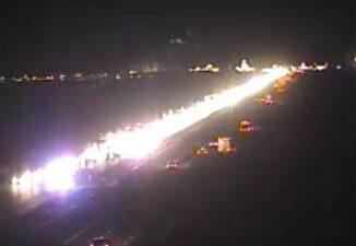 Pedestrian dies in crash on Interstate 15 north of Primm