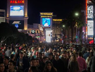 Las Vegas Strip to see smaller shutdown for New Year's Eve